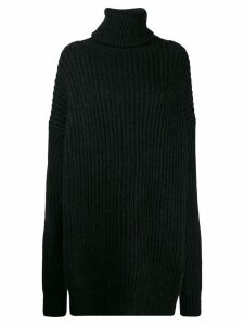 Maison Margiela open panel jumper - Black
