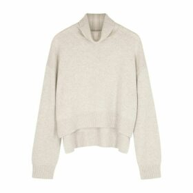 Rejina Pyo Lyn Stone Roll-neck Cashmere Jumper