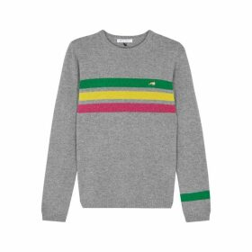BELLA FREUD Daytona Striped Cashmere Jumper