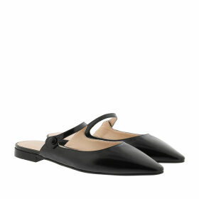 Prada Loafers & Slippers - Flat Mules Leather Black - black - Loafers & Slippers for ladies