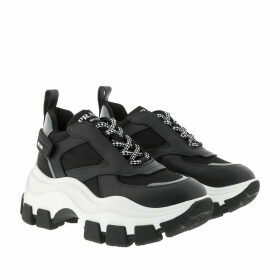 Prada Sneakers - Big Sole Sneaker Black/White - black - Sneakers for ladies