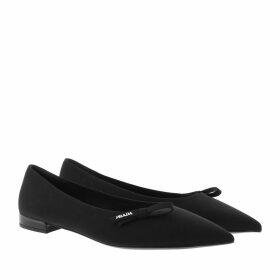 Prada Ballerinas - Technical Fabric Ballerinas Black - black - Ballerinas for ladies