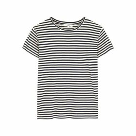 Vince Striped Jersey T-shirt