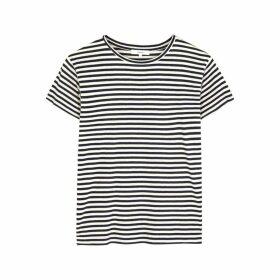 Vince Striped Jersey T-shirt