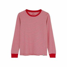 MADS NORGAARD Trimmy Striped Cotton Top