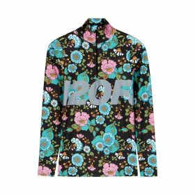 H2OFAGERHOLT Tour De Shirt Floral-print Stretch-jersey Top