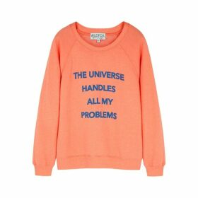 Wildfox The Universe Sommers Printed Jersey Sweatshirt