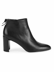 Lofty Leather Booties
