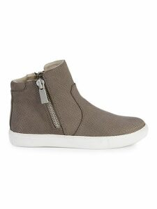 Kaia Leather Sneaker Boots