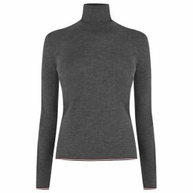Thom Browne 4 Bar Polo Neck