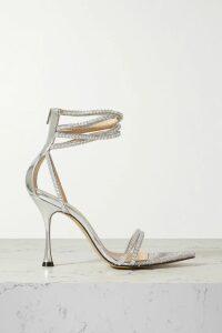 Paul & Joe - Kantoinette Metallic Floral-print Chiffon Dress - Black