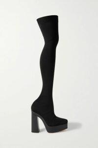 La Ligne - Striped Ribbed-knit Cotton Sweater - Cream