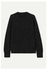 Joseph - Mouline Mélange Merino Wool Sweater - Black