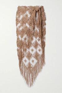 Joseph - Mouline Mélange Merino Wool Track Pants - Dark gray