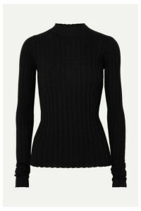 Petar Petrov - Ribbed Merino Wool Sweater - Black