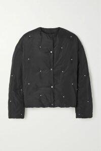 REJINA PYO - Briana Lamé Shirt - Silver