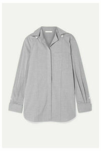 Peter Do - Convertible Voile Shirt - Gray