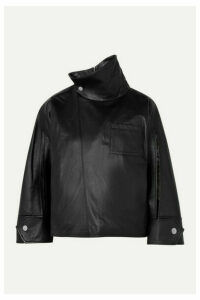 3.1 Phillip Lim - Leather Top - Black