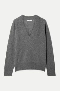 Equipment - Madalene Cashmere Sweater - Dark gray