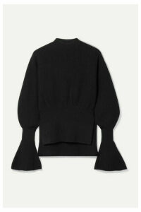 Alexander Wang - Ribbed-knit Sweater - Black