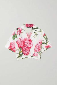 Alexander McQueen - Checked Bouclé-tweed Blazer - Blue