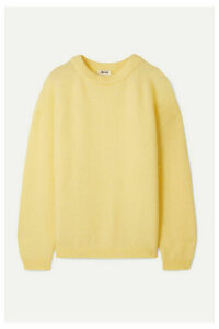 Acne Studios - Dramatic Knitted Sweater - Pastel yellow