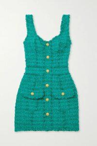 Moschino - Printed Satin-jersey Track Pants - Green