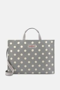 Button Spot Strappy Carryall Bag