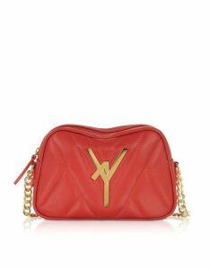 Atelier V1 Designer Handbags, Attica Quilted Leather Camera Bag