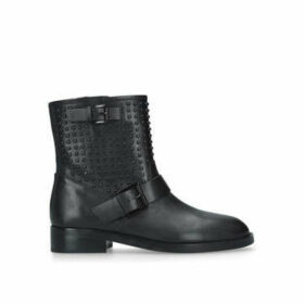 Michael Michael Kors Reeves Bootie - Black Studded Ankle Boots