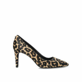 Michael Michael Kors Dorothy Flex Pump - Leopard Print Stiletto Heel Court Shoes