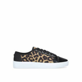 Carvela Jigsaw - Leopard Print Lace Up Trainers