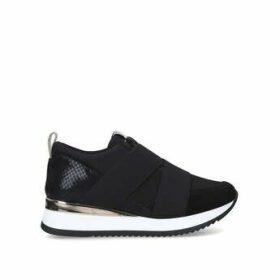 Carvela Just - Black Slip On Chunky Trainers