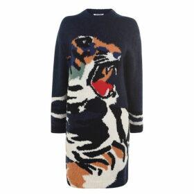Kenzo Tiger Knit Dress