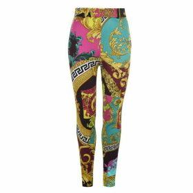 Versace Multi Coloured Print Trousers
