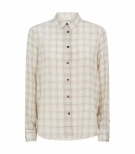 Jonas Check Silk Shirt