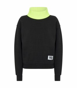 Knitted Turtleneck Sweatshirt