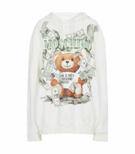 Teddy Bear Dollar Logo Hoodie