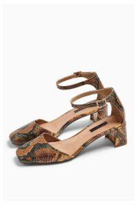 Womens Jay Square Toe Block Shoes - Multi, Multi