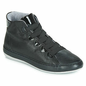 TBS  TEANNAH  women's Shoes (High-top Trainers) in Black