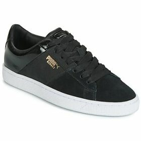 Puma  BASKET REMIX  women's Shoes (Trainers) in Black