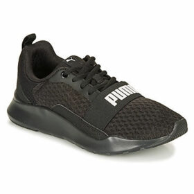 Puma  PUMA WIRED.BLK  women's Shoes (Trainers) in Black