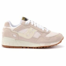 Saucony  Sneaker Shadow 5000 in suede e mesh beige  women's Shoes (Trainers) in Beige