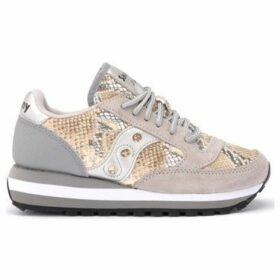 Saucony  sneaker Jazz Triple model in beige and gray suede with python  women's Shoes (Trainers) in Other