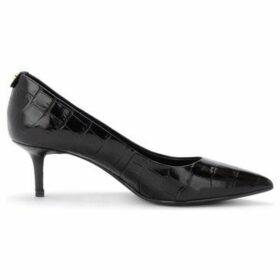 MICHAEL Michael Kors  Decollete model Flex Kitten in black crocodile print leather  women's Court Shoes in Black