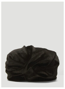 Flapper Lola Knot Hat in Black size One Size