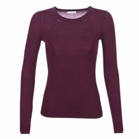 Lacoste  AF8728  women's Sweater in Bordeaux
