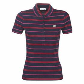 Lacoste  PF9304  women's Polo shirt in Multicolour