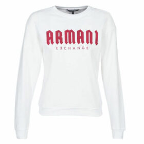 Armani Exchange  6GYM01-YJE5Z-7104  women's Sweatshirt in White