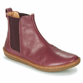 El Naturalista  CORAL  women's Mid Boots in Red
